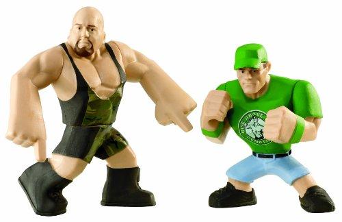 WWE Rumblers Big Show and John Cena Figure, 2-Pack - 1
