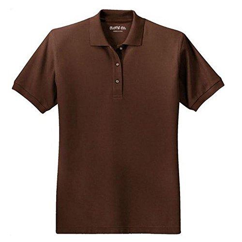 clothe-co-ladies-short-sleeve-polo-shirt-coffee-bean-l