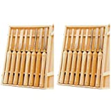 PSI Woodworking LCHSS8 Wood Lathe HSS Chisel Set, 8Piece (2) (Tamaño: 2)