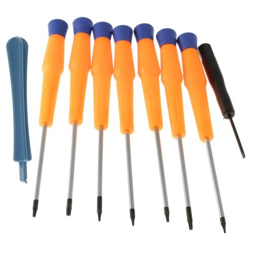 (9 Items Combo) Tool Repair Kit Precision Screw