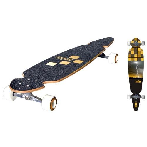 Amazon.com : Atom Pintail Super Carver Longboard ...