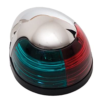 ITC (81630SS-B-DB) Red/Green Combination Navigation Light