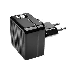 Kensington K39396EU - Cargador doble de pared USB, sin cables, para tablet  Electrónica revisión