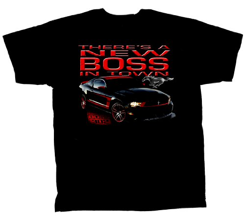 Ford Mustang Boss 302 T-Shirt Boss In Town-Large