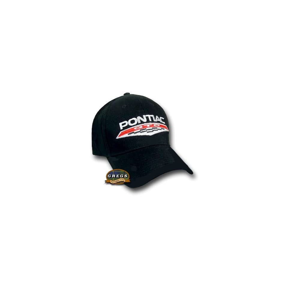 1e5412c546b22 Pontiac GTO Hat Cap Black Apparel Clothing on PopScreen