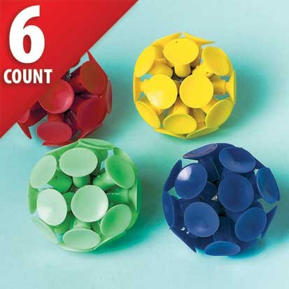 Suction Cup Balls 6ct - 1