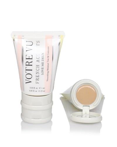 Votre Vu Love Me Deux Tinted Moisturizer & Concealer, Champagne-Golden Cream