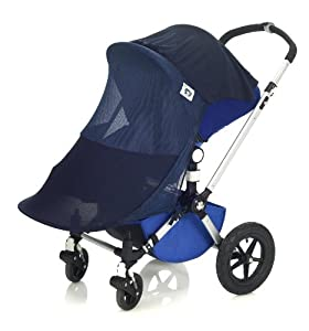 Protect-a-Bub Deluxe 3-in-1 Sunshade - Single - Navy (Discontinued by Manufacturer)