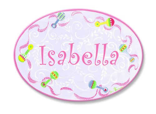 Personalized Baby Rattle front-1044865