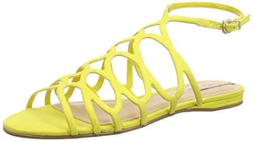 Aldo Signoressa - Sandali Gladiator Donna, colore giallo (light yellow / 68), taglia 39 EU (6 UK)