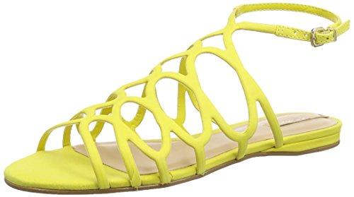 Aldo Signoressa - Sandali Gladiator Donna, colore giallo (light yellow / 68), taglia 39 EU (6 UK)