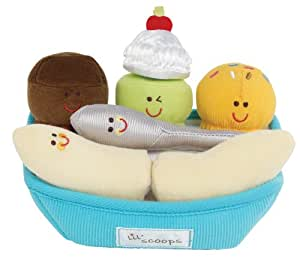 Earlyears Lil Scoops Banana Split Set (Discontinued by Manufacturer)