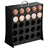 "Mind Reader ""The Wall"" 50 Capacity K-Cup Single Serve Coffee Pod Display Rack , Black"
