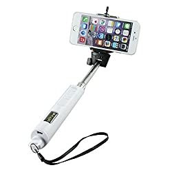 Blau Fünf Wireless Camera Monopad Selfie Stick for iPhone, Samsung, Micromax, HTC, Lava, Sony, Nokia and all Andriod mobiles and Pads