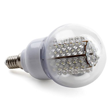 M.M E14 3.5W 78-Led 190-210Lm Natural White Light Led Ball Bulb (230V)