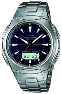Casio Wva-430du-1aver Tough Wave Ceptor Radio Controlled Solar Power Combi Watch