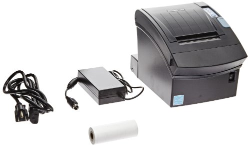 Why Should You Buy BIXOLON Monochrome Desktop Direct Thermal Receipt Printer with Parallel Interface, 7.87 in/s Print Speed, 180 dpi Print Resolution, 3″ Print Width, 24 VDC, Black