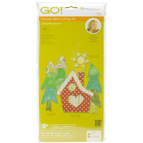 Accuquilt Go! It Fits! Fabric Cutting Dies: Home front-203575