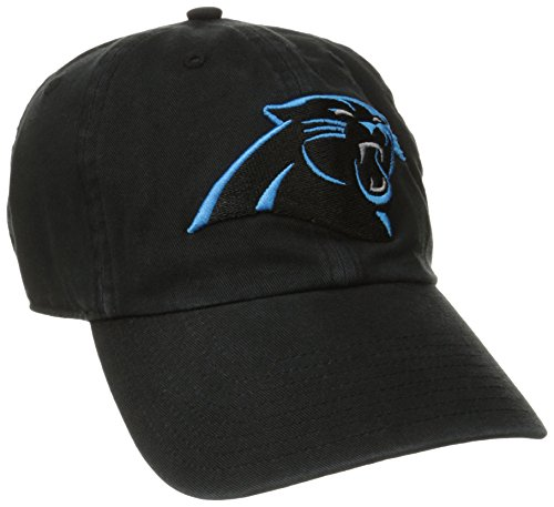 NFL Carolina Panthers '47 Clean Up Adjustable Hat, Black, One Size