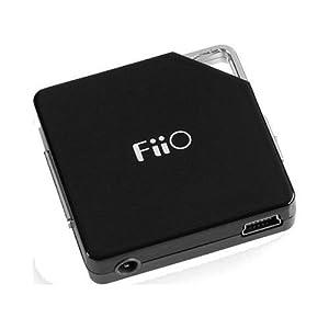 FiiO E6 Portable Headphone Amplifier - Black (Discontinued by Manufacturer)