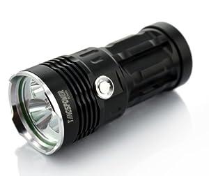 Buy TangsFire® Super Bright 3800 Lumens 3 x CREE XM U2 LED Lamp 3 Modes Flashlight Power Source 1 2... by Tangsfire