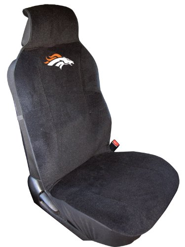 1 Pc Football Denver Broncos Low Back Front Seat Cover Universal Fit