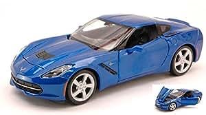 2014 Corvette Stingray [Maisto 31505], Azul, 1:24 Die Cast