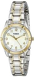 Timex Women's TW2P761009J Style Elevated Analog Display Quartz Two Tone Watch