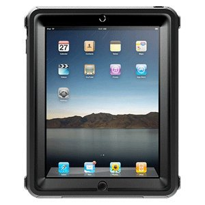 Otterbox Apple Ipad Defender Case Black Removable Dock Door High-Quality Polycarbonate Shell New
