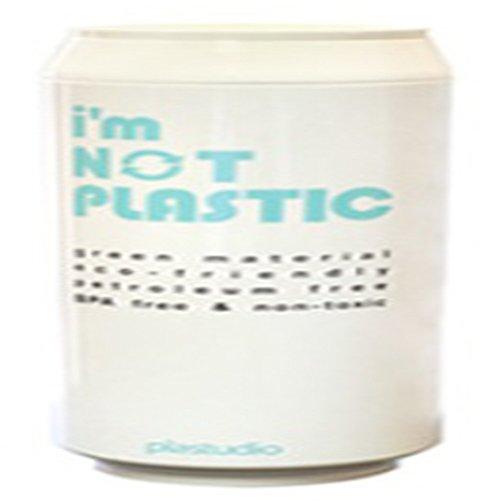 Bomnal Poly Lactic Acid ECO Drink Silicone Tumbler (420 ml/ 14.2 oz, White)