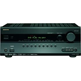 Onkyo TX-SR607 7.2-Channel A/V Surround Home Theater Receiver (Black)