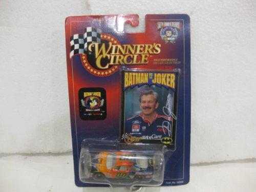 Dale Jarrett #88 Quality Care / Batman Ford Taurus Nascar In Orange & Blue Diecast 1:64 Scale By Winner's Circle