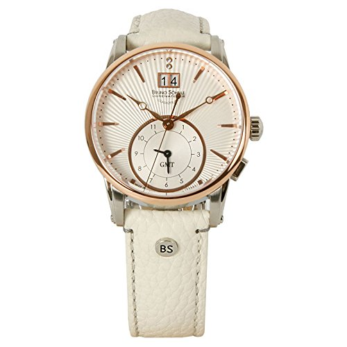 Bruno Söhnle Women's Quartz Watch Analogue Display and Leather Strap 17-63154-241