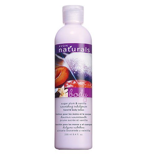Avon Naturals Sugar Plum & Vanilla Hand & Body Lotion
