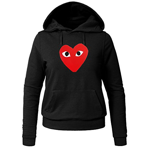 CDG PLAY COMME des GARCONS For Ladies Womens Hoodies Sweatshirts Pullover Outlet