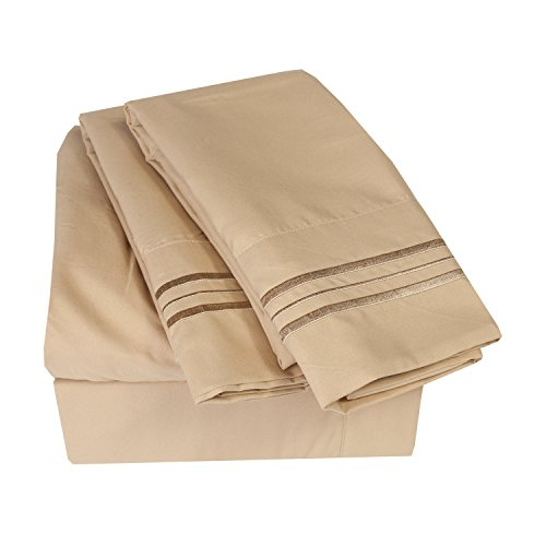 Find Cheap 1500 Thread Count 4pc Bed Sheet Set Egyptian Quality Deep Pocket - All Size, 12 Colors - ...