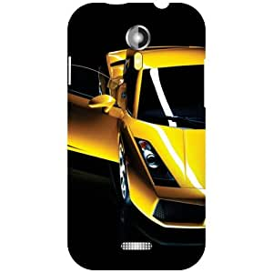 Micromax A117 Canvas Magnus Back Cover - Demand For Car Designer Cases