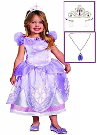Amazon.com: Disney Princess Sofia the First Toddler Deluxe Royal Dress
