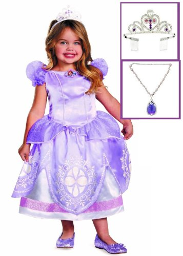 Disney Princess Sofia the First Toddler Deluxe Royal Dress Costume