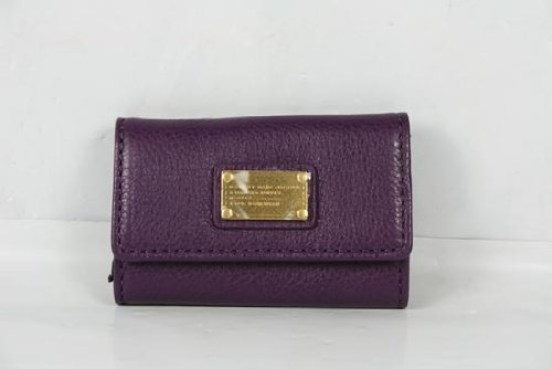 Marc By Marc Jacobs Marc Jacobs Classic Q Key Case in Pansy Purple