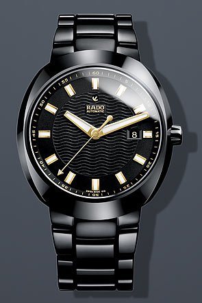 Rado D-Star Black Dial Automatic Ceramic Mens Watch R15609162