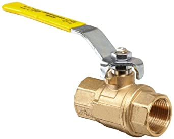 Apollo 64-100 Series Brass Ball Valve, Two Piece, Inline, Lever, NPT Female