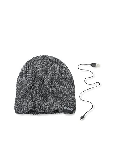 1 Voice Men's Bluetooth Beanie, Grey