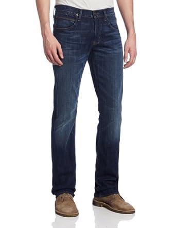 Hudson Jeans Men's Byron Straight Leg Jean in Crocodile Café, Crocodile Cafe, 28