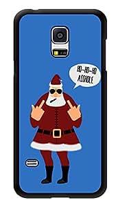 "Humor Gang Ho Ho Ho Adult Santa Printed Designer Mobile Back Cover For ""Samsung Galaxy S5"" (3D, Glossy, Premium Quality Snap On Case)"