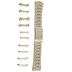 Watch Band Stainless Steel Men's Fits 18mm -22mm