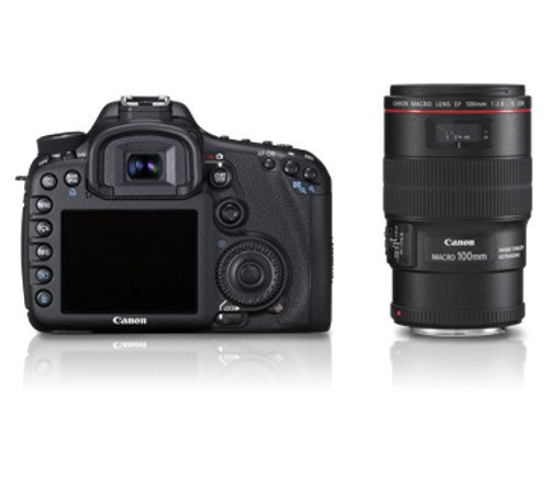 Cannon 7D (Lens 18-135+Pouch and Card)