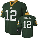 Aaron Rodgers Green Bay Packers NFL Youth 8-20 Mid-tier Jersey Green