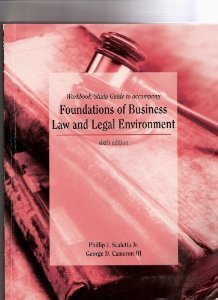 Study Guide with Quicken Business Law Partner 3.0 CD-ROM for Business Law & the Legal Environment