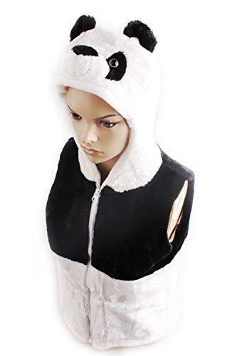 Small Panda Bear Costume Kids,Dealzip Inc® Panda Bear Clothes Vest Kids Costume
